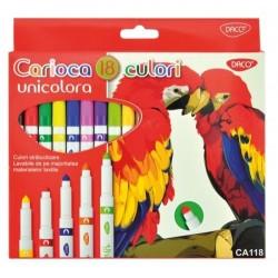 Carioca 18C varf conic Unicolora DACO CA118