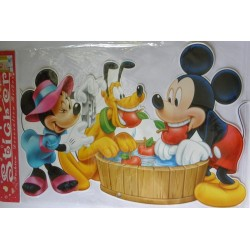 Sticker perete cu Minnie, Mickey si Pluto