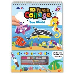Set creatie AMOS 3D Puzzle Collage Sea World