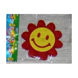 Floricele zambarete decorative din fetru 3 buc/set