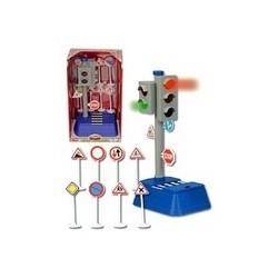 Semafor 24 cm si semne de circulatie Dickie Toys