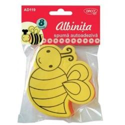 Accesorii craft - AD119 albinita spuma autoadeziva DACO