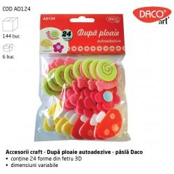 """""""Dupa ploaie"""" - Accesorii Craft pasla autoadeziva Daco Art AD124"""