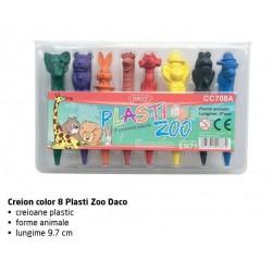 Plasti ZOO - Creioane colorate DACO CC708A