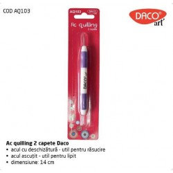 Ac quilling 2 capete Daco Art AQ103
