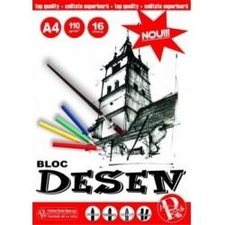 Bloc de Desen A4 110g Pinga