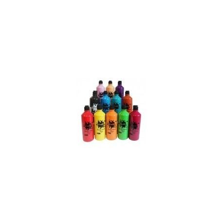 Set 13 Culori Tempera OCALDO 600 ml