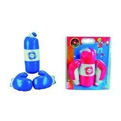 Set sac de box+ manusi Simba Toys