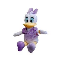 Mascota originala disney jucarie de plus ratusca Daisy duck 20 Cm
