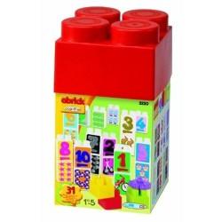 Set Cuburi cu Numere 31 de Piese