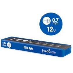 Mină creion mecanic Milan 0.7