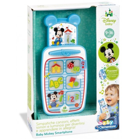 Jucarie Smartphone Disney Baby Mickey Mouse - Clementoni