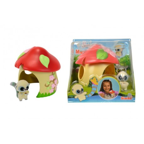 Set Yoohoo & Friends Casuta ciupercuta Simba Toys