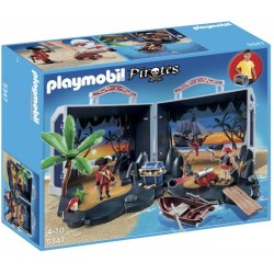 Set mobil insula piratilor Playmobil Pirates PM5347