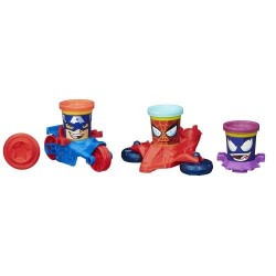 Set Plastilina Play-Doh Marvel Can-Heads Vehicle