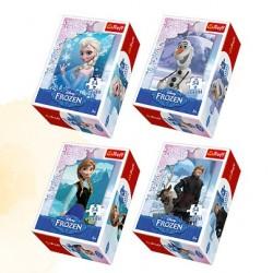"Joc mini puzzle Frozen 54 piese ,Trefl"""