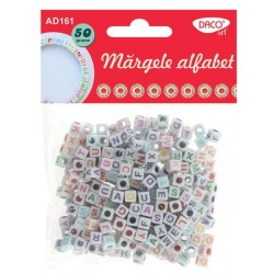 Accesorii craft - AD161 margele alfabet DACO