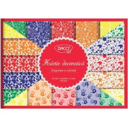 Hartie decorativa model inimi Daco Art HR924
