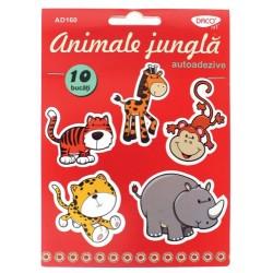 Animale jungla din spuma autoadezive AD160 Daco Art
