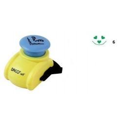 Perforator colt 2,5 cm Daco Art PFC025/6