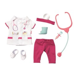 Set Hainute Doctor Papusa Baby Born Zapf