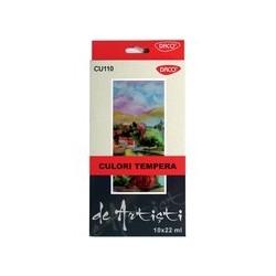 Set Culori Tempera de Artisti 10 x 22 ml DACO CU110