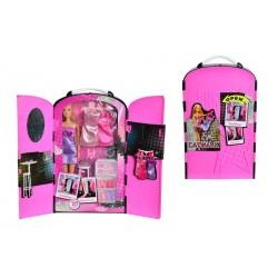 Set Steffi Love Catwalk - papusa cu garderoba si accesorii