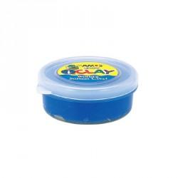 Plastilina iClay albastru 18g/cutie Amos