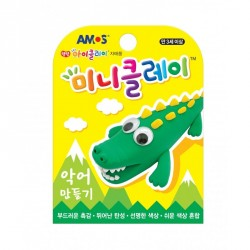 Plastilina AMOS iClay 30g mini clay model Crocodil