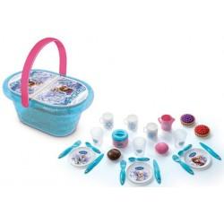 Cos de picnic cu accesorii Smoby Disney Frozen