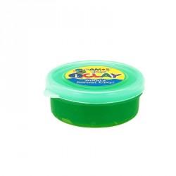 Plastilina iClay Amos 18g/cutie verde