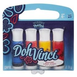 DohVinci Set 4 Rezerve Deco Pop Culori Calde