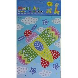 """Joc creativ mozaic """"Avion"""""""