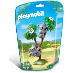 Familie De Koala Playmobil City Life Zoo PM6654