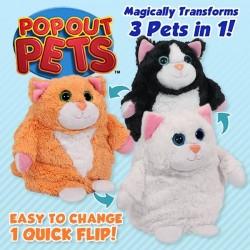 Jucarie Pop Out Pets Pisici