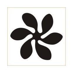 Perforator floare 6 petale 18 mm