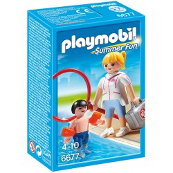 Set Playmobil water park Salvamar PM6677