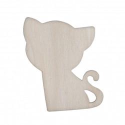 Set 4 Pisicute  - Accesorii craft lemn