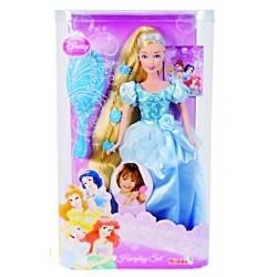 Papusa Printesa Disney Cenusareasa cu par lung Simba Toys