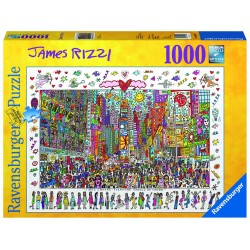 Puzzle Times Square, 1000 piese Ravensburger
