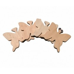 Set 4 Fluturasi - Accesorii craft lemn