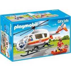 Playmobil Elicopter medical de urgenta  PM6686