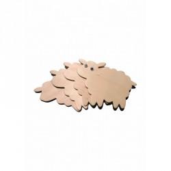 Accesorii craft lemn - Set 4 Oite