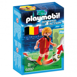Set Playmobil Fotbalist Belgian PM6897
