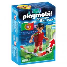 Set Playmobil Fotbalist Portughez PM6899