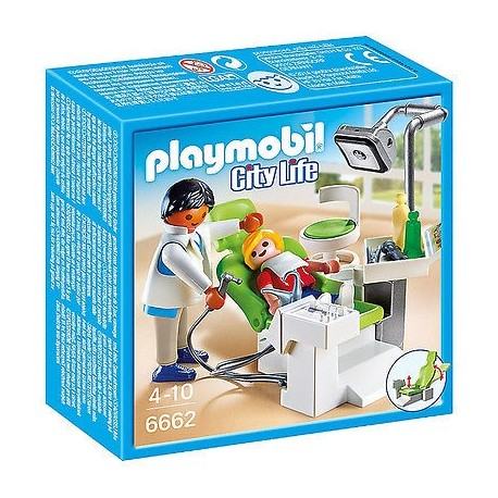 Set Playmobil Dentist cu pacient PM6662
