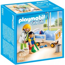 Doctor si copil Playmobil PM6661