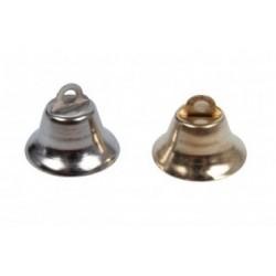 Clopotei metalici aurii/argintii 10 buc/set