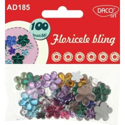 Accesorii craft - AD185 floricele bling DACO