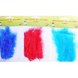 Accesorii creatie set pene colorate